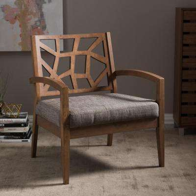 lounge chair for living room desk chairs on wheels baxton studio furniture the home depot jennifer grey fabric upholstered