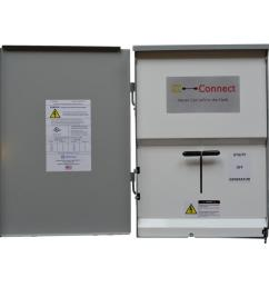 ez connect manual transfer switch with 30 amp inlet for generator connection [ 1000 x 1000 Pixel ]