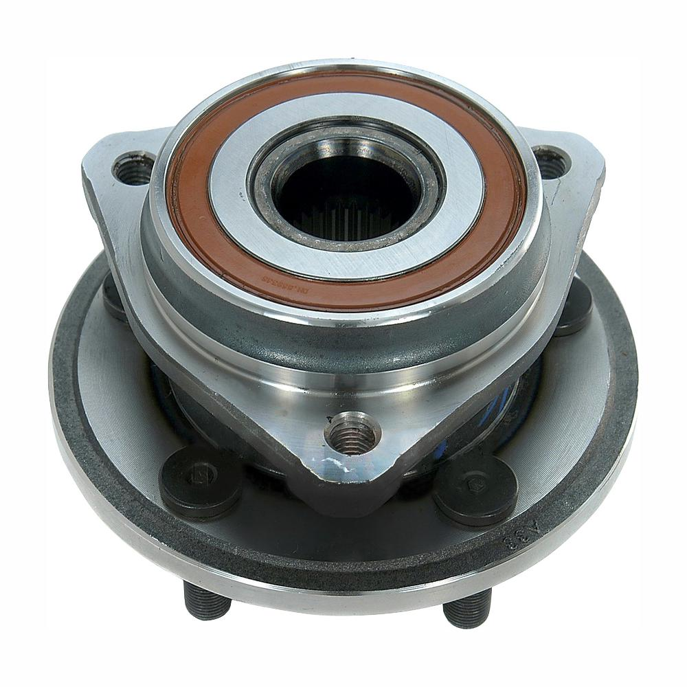 medium resolution of front wheel bearing and hub assembly fits 1999 2006 jeep tj wrangler cherokee