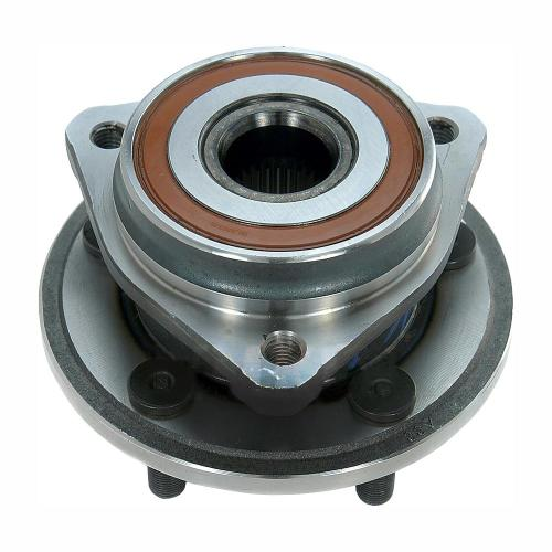 small resolution of front wheel bearing and hub assembly fits 1999 2006 jeep tj wrangler cherokee