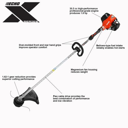 small resolution of 30 cc gas 2 stroke cycle straight shaft string trimmer