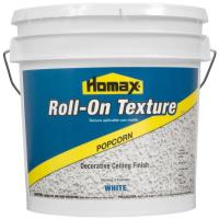 Homax 2 gal. White Popcorn Roll-On Texture Decorative ...