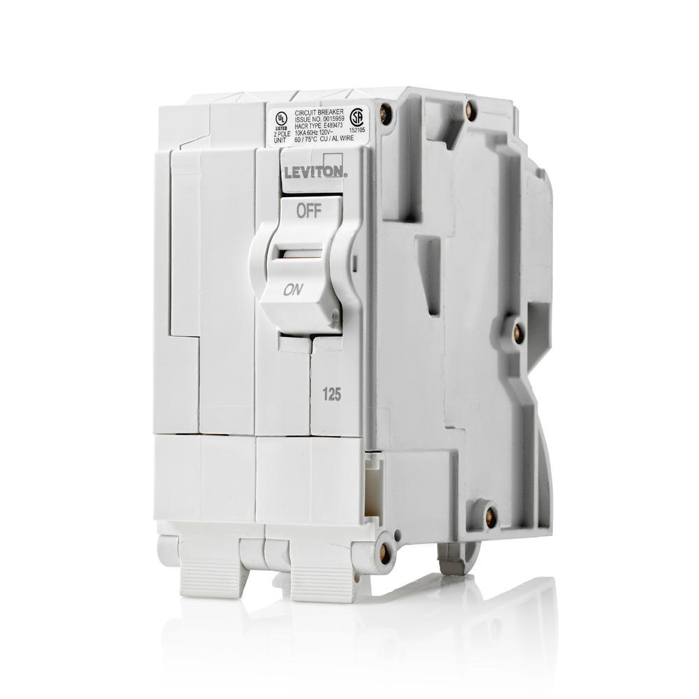 medium resolution of 120 240 vac 125 amp 2 pole plug on standard branch circuit breaker