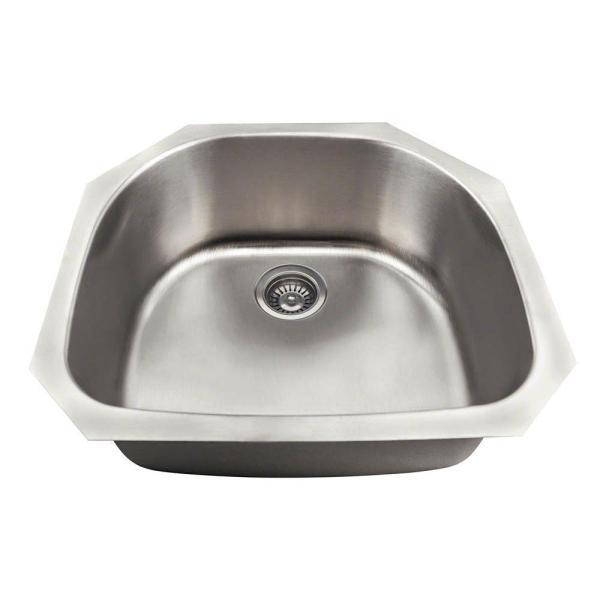 Elkay Dayton Drop-in Stainless Steel 15 In. 1-hole Bar Single Bowl Kitchen Sink-d115151