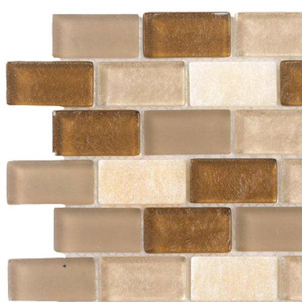 Jeffrey Court Honey Onyx Brick 3 In. X 6 8 Mm Glass