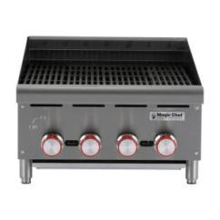 Magic Kitchen Grill Aid Mixer Chef Commercial 24 In Thermostatic Countertop Griddle Mcctg24 Radiant Charbroiler