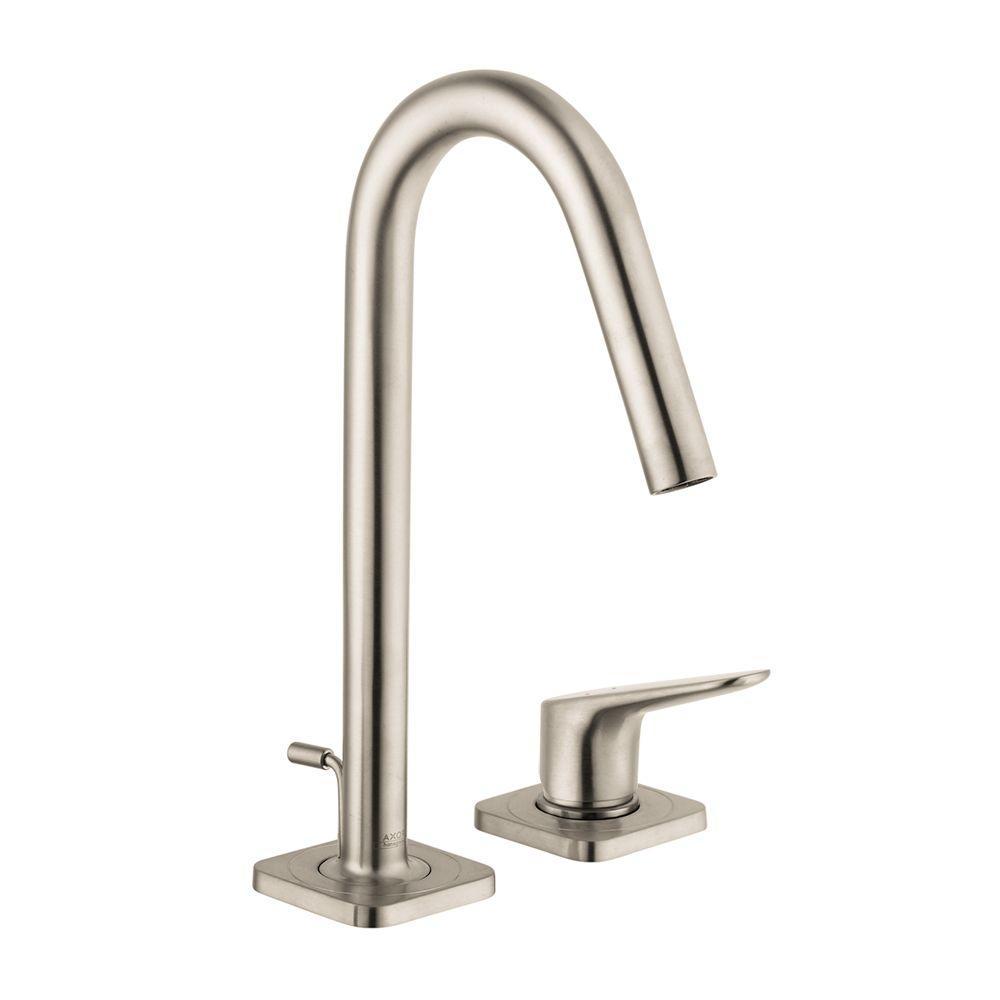 AXOR Bathroom Brushed Nickel Faucet Bathroom Brushed