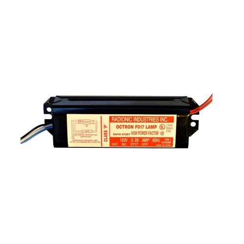 small resolution of octron 17 watt t8 high power factor magnetic replacement ballast for f17t8 lamp
