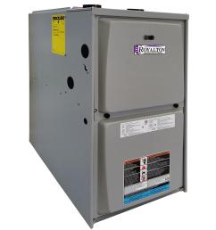 88 000 btu 95 afue single stage upflow horizntal forced air natural gas furnace [ 1000 x 1000 Pixel ]