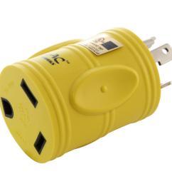ac works rv generator adapter nema l5 30p 30 amp 125 volt locking l5 30p wiring ac plug [ 1000 x 1000 Pixel ]