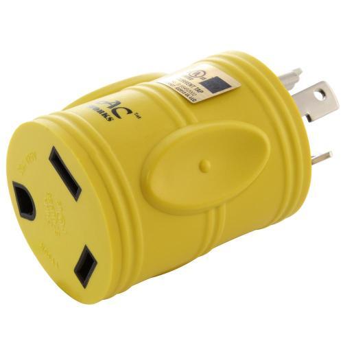 small resolution of ac works rv generator adapter nema l5 30p 30 amp 125 volt locking l5 30p wiring ac plug