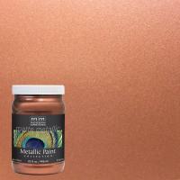 Modern Masters 1 qt. Copper Matte Metallic Interior Paint ...
