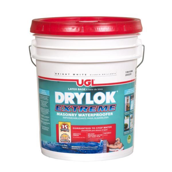 Drylok Extreme 5 Gal. Masonry Waterproofer-28615 - Home Depot