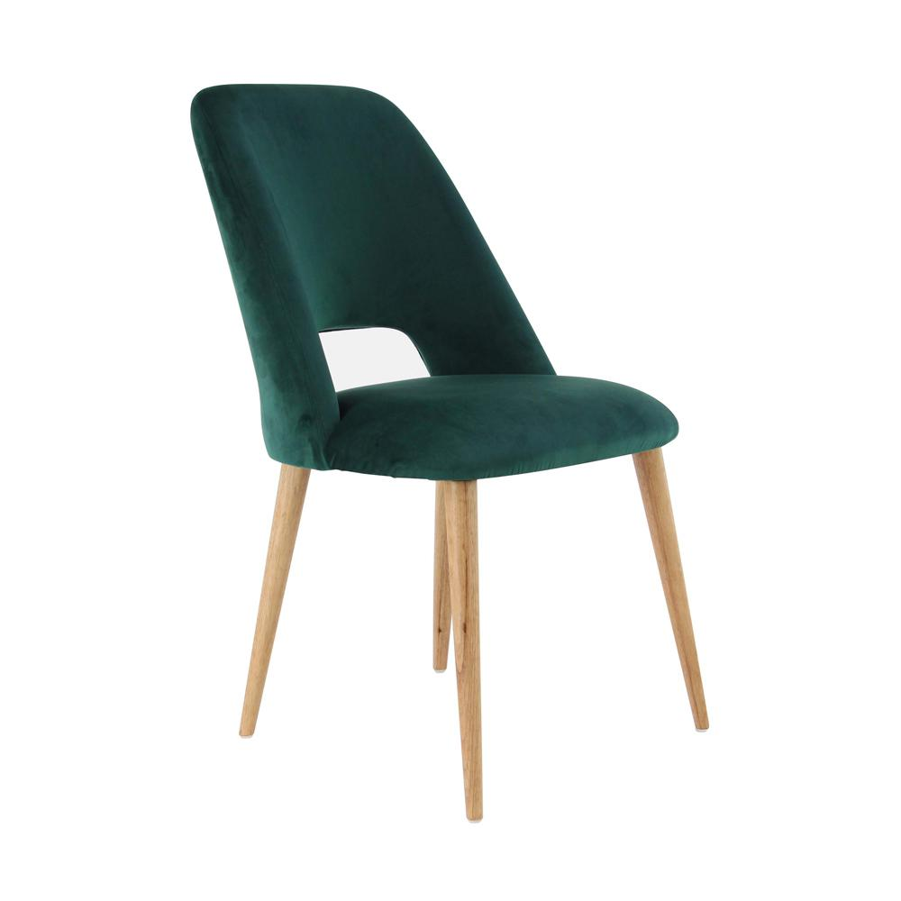 material to cover dining chairs accent chair under 100 litton lane green wood and fabric cushioned 38378 the