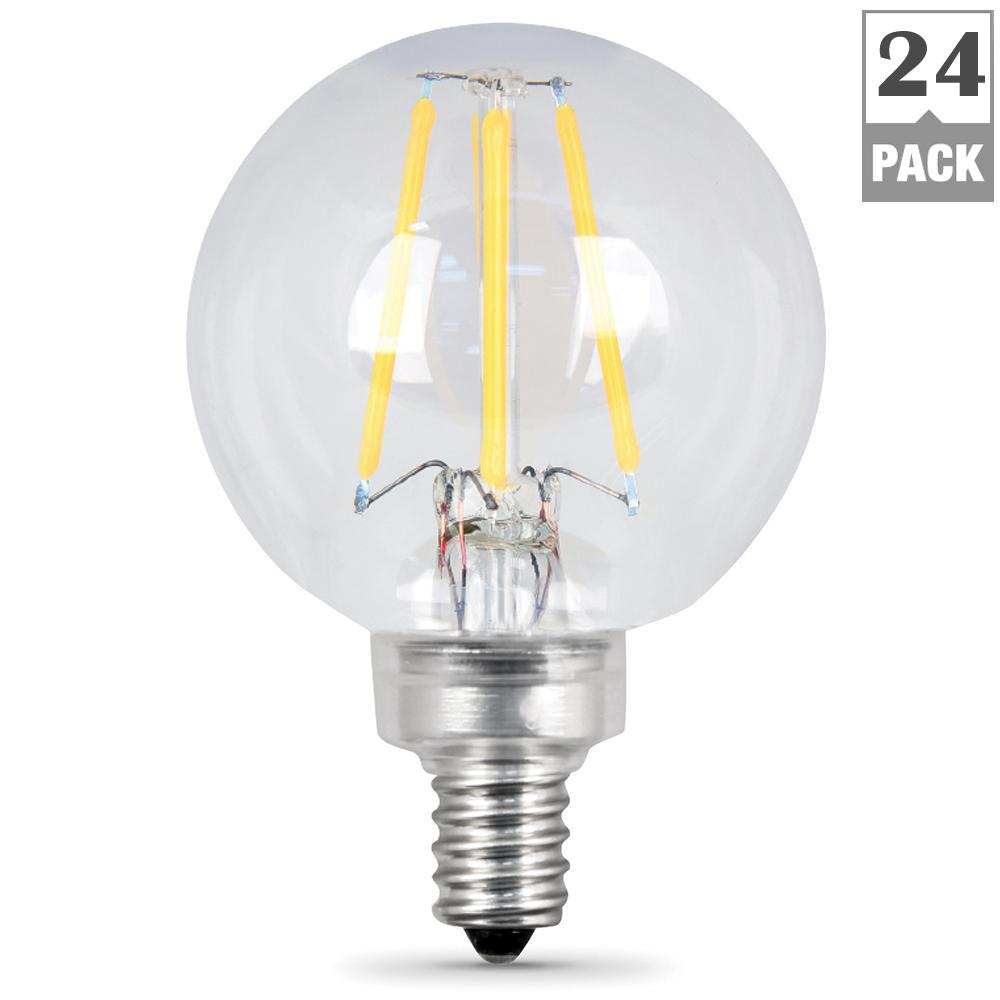 Feit Electric 60W Equivalent Soft White G165 Dimmable