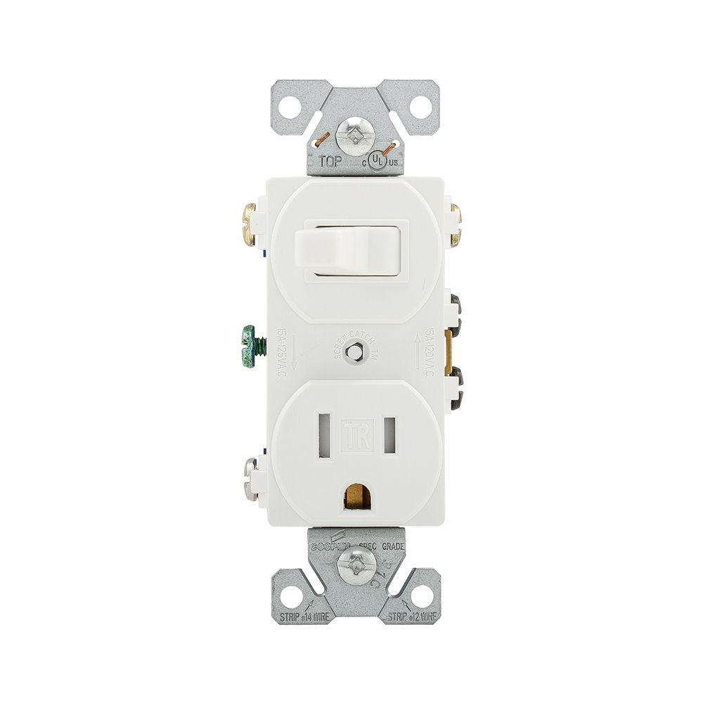 hight resolution of eaton 15 amp 120 volt 5 15 3 wire combination receptacle and toggle