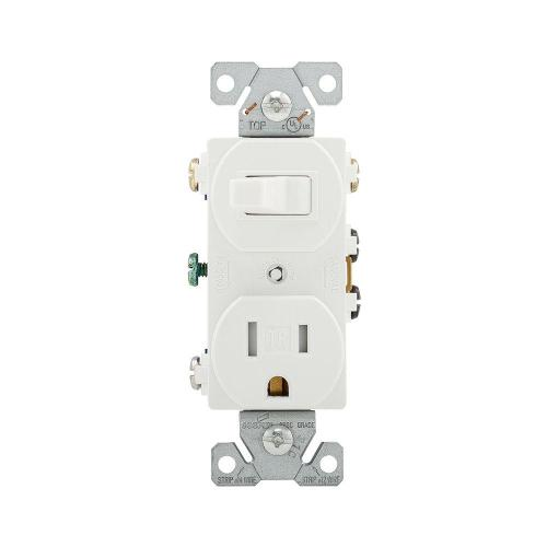 small resolution of eaton 15 amp 120 volt 5 15 3 wire combination receptacle and toggle