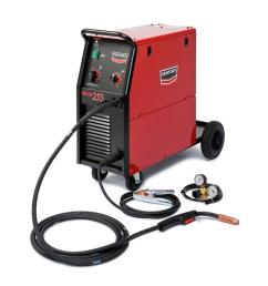 century 255 amp wire feed 255 mig wire feed welder with 250l magnum gun and gas [ 1000 x 1000 Pixel ]