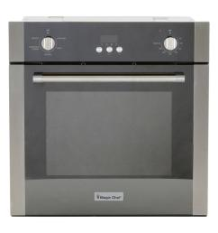 single electric wall oven with convection in stainless steel [ 1000 x 1000 Pixel ]