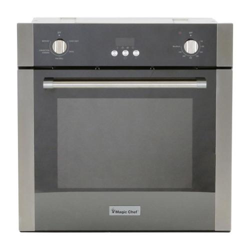 small resolution of single electric wall oven with convection in stainless steel