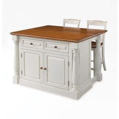 Best Place To Buy Kitchen Island Shabby Chic Decor Home Styles Monarch White With Seating 5020 948 The