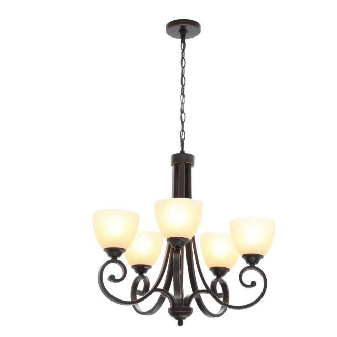Renae 5 Light Oil Rubbed Bronze Chandelier