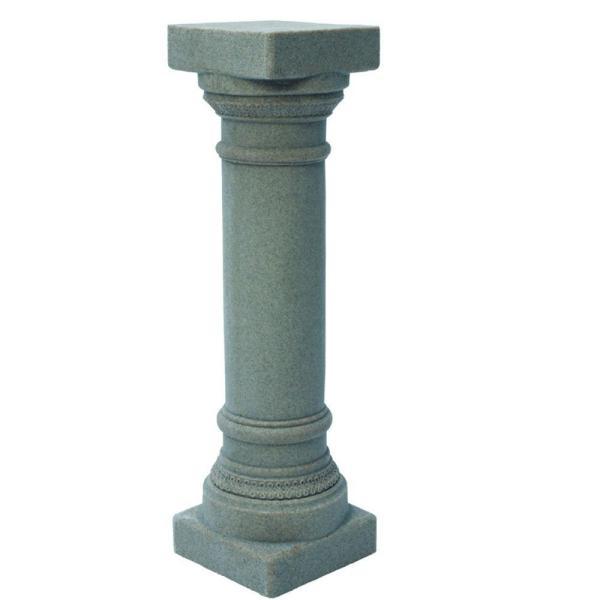 Emsco 32-1 8 In. Grey Greek Column-2301-1 - Home Depot