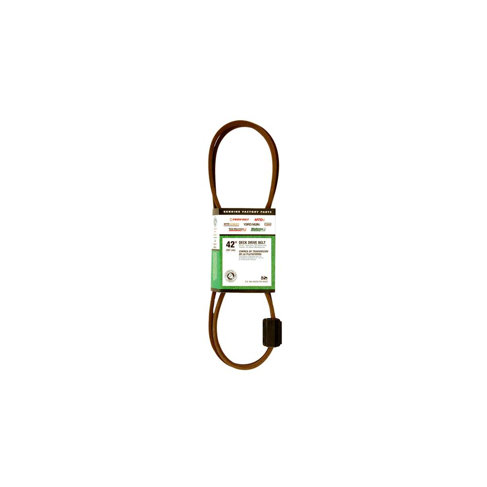 medium resolution of 42 in deck drive belt for 700 series lawn tractors