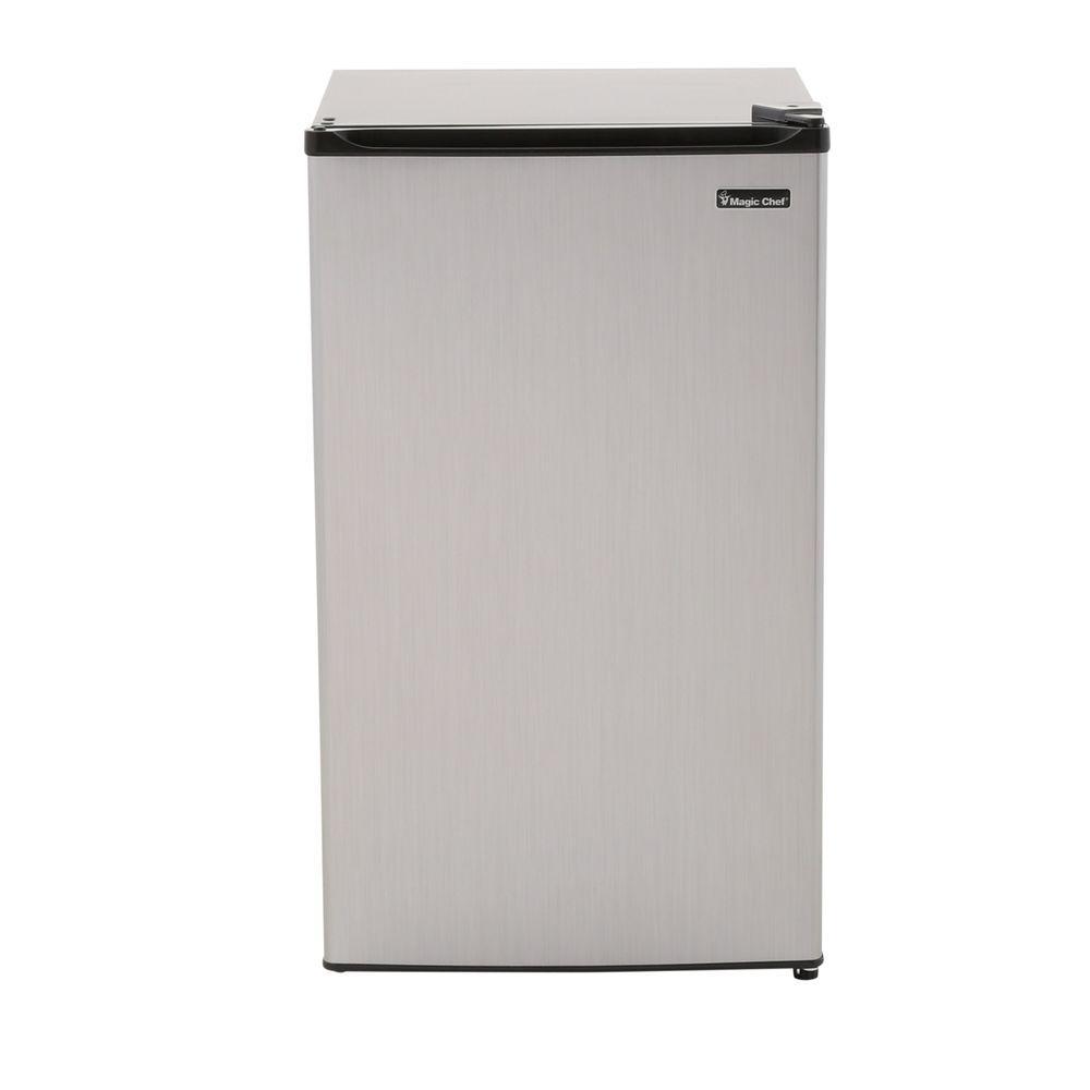 medium resolution of mini fridge in stainless look energy star