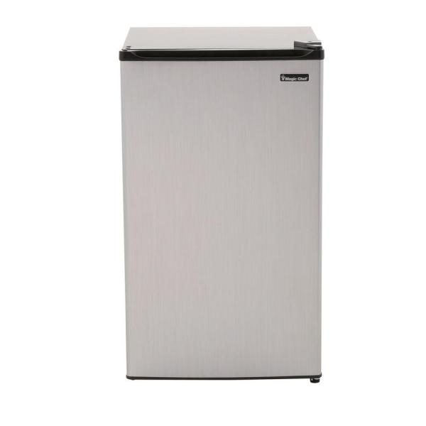 Magic Chef 3.5 Cu. Ft. Mini Refrigerator In Stainless
