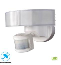 defiant 180 degree white led motion outdoor security light [ 1000 x 1000 Pixel ]