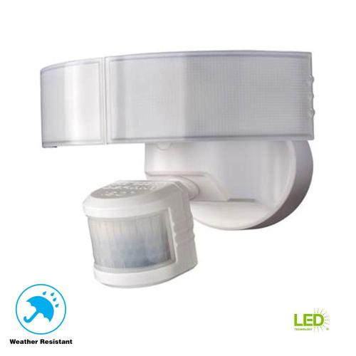 small resolution of defiant 180 degree white led motion outdoor security light