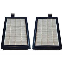 think crucial hepa style filter replacement for electrolux and eureka part hf12 and hf  [ 1000 x 1000 Pixel ]