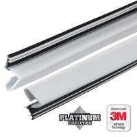 84 in. Platinum White Collection Door Weatherstrip ...
