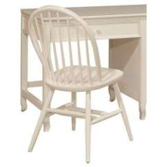 White Wooden Chair For Desk Metal Folding Chairs Office Wood Home Links Bow Back