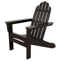 US Leisure Fern Plastic Adirondack Chair-153853 - The Home ...