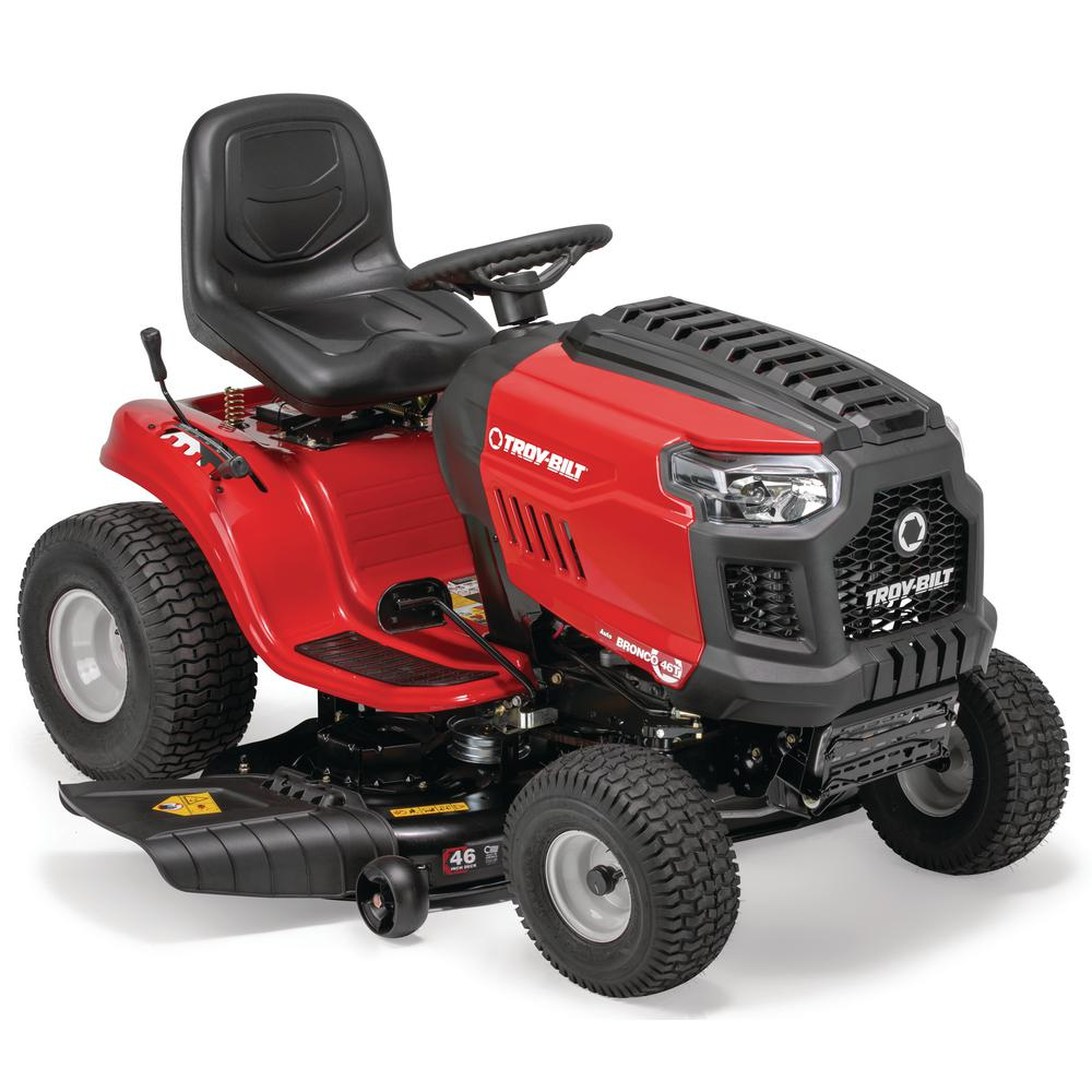 medium resolution of troy bilt bronco 46 in 679 cc v twin ohv engine automatic drive