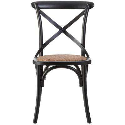 farmhouse dining chairs side for black kitchen room furniture hyde wood chair set of 2