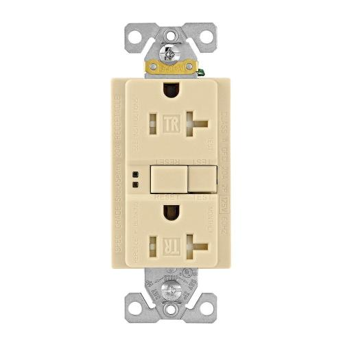 small resolution of shop cooper wiring devices 20amp ivory decorator electrical outleteaton gfci self test 20a 125v tamper resistant