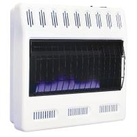 Williams 30,000 BTU Blue Flame Vent-Free Natural Gas Wall ...