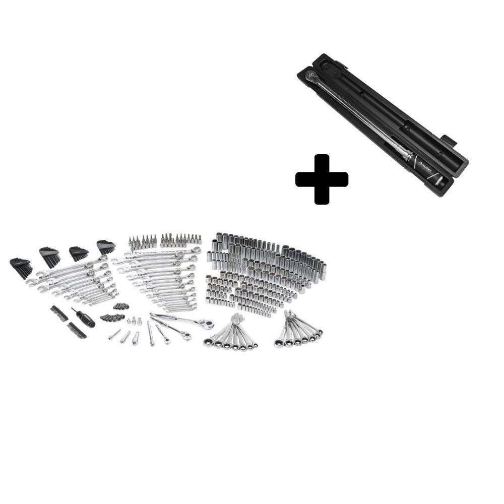 Husky Mechanics Tool Set (349-Piece) with Bonus 1/2 in