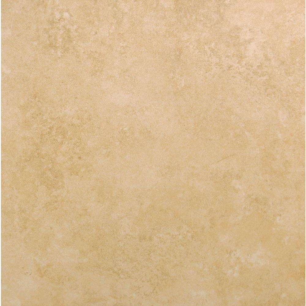 ferrara marron 17 in x 17 in glazed ceramic floor and wall tile 26 91 sq ft case nprfermar17x17 202786458