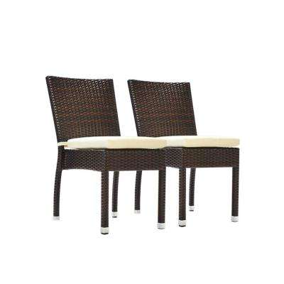 white plastic patio chairs stackable true innovations chair costco furniture the jersey espresso wicker outdoor dining with cream cushions 2 pack