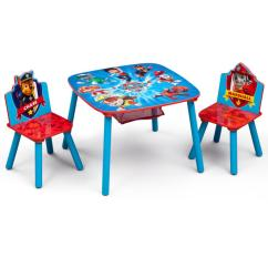 3 Piece Table And Chair Set Christmas Kitchen Covers Delta Children Nick Jr Paw Patrol Multi Color
