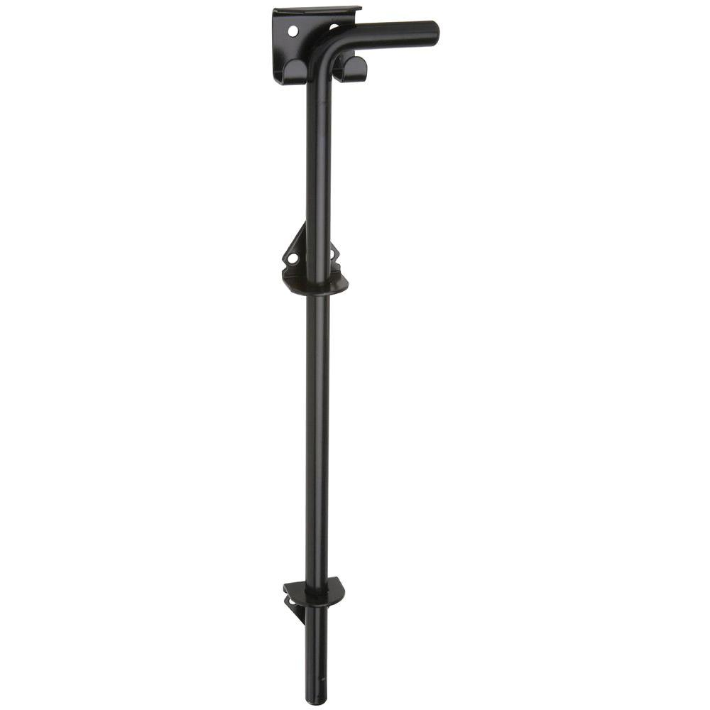 Stanley-National Hardware 5/8 in. x 18 in. Black Cane Bolt