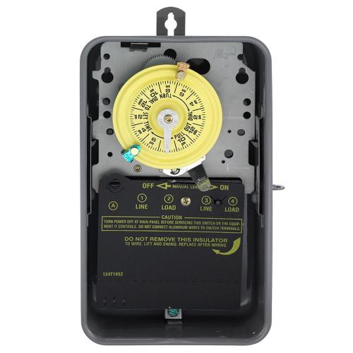 small resolution of intermatic t104r 40 amp 208 277 volt dpst 24 hour mechanical time switch with