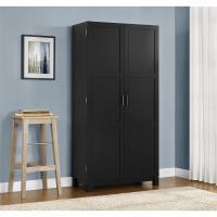 Altra Furniture Carver Matte Black Storage Cabinet ...