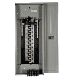 es series 200 amp 40 space 40 circuit main breaker load center value [ 1000 x 1000 Pixel ]