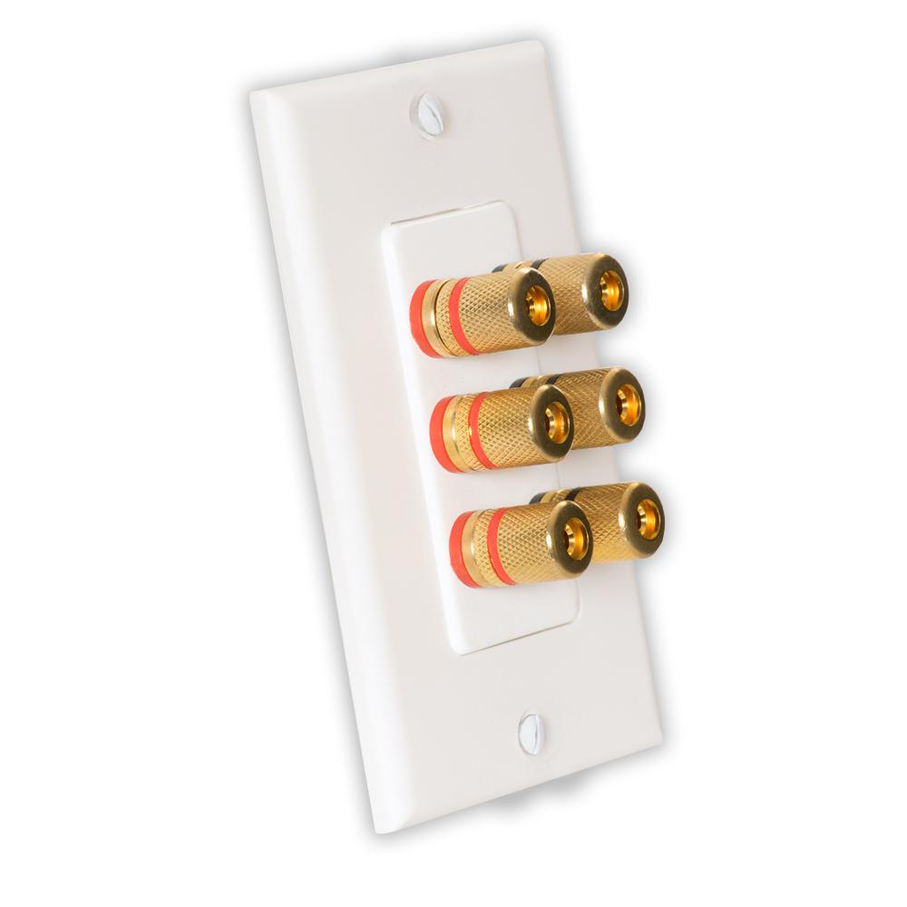 medium resolution of theater solutions by goldwood home theater speaker wire wall plate 3 speaker 6 posts