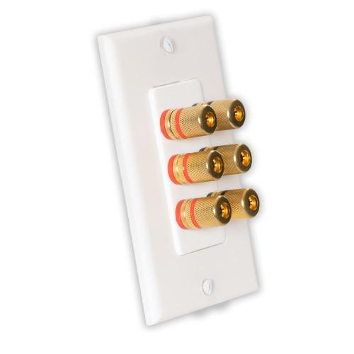 small resolution of theater solutions by goldwood home theater speaker wire wall plate 3 speaker 6 posts